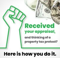 received your appraisal thinking of a property tax protest oconnor